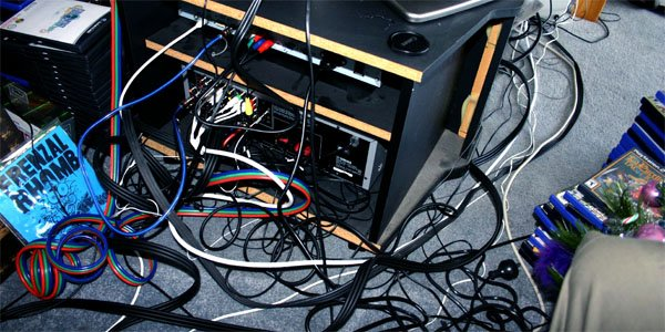 How Dangerous Is Your Mess Of Tangled Power Cables Tested