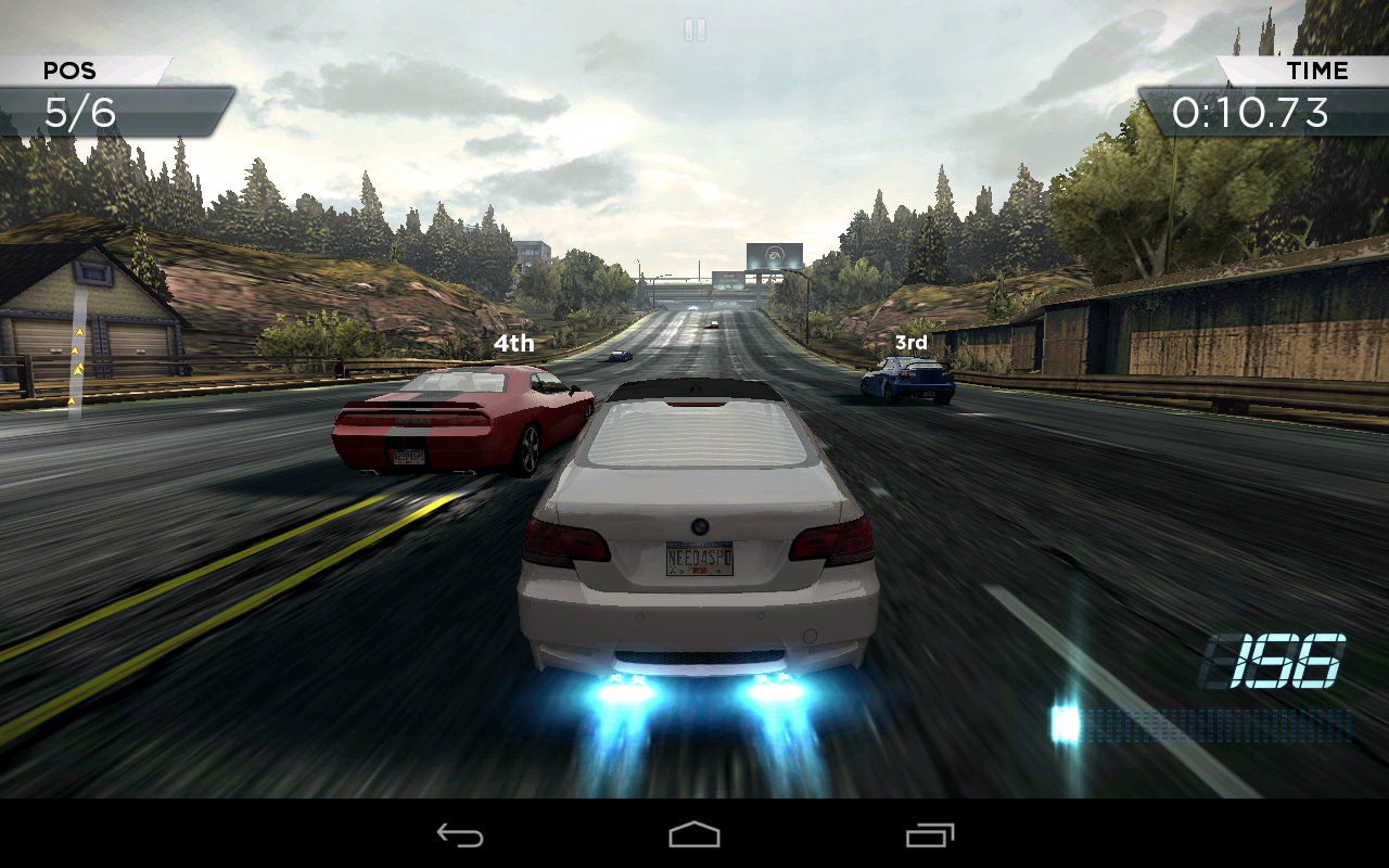 Need for speed most wanted llegar a android en octubre for Nfs most wanted android
