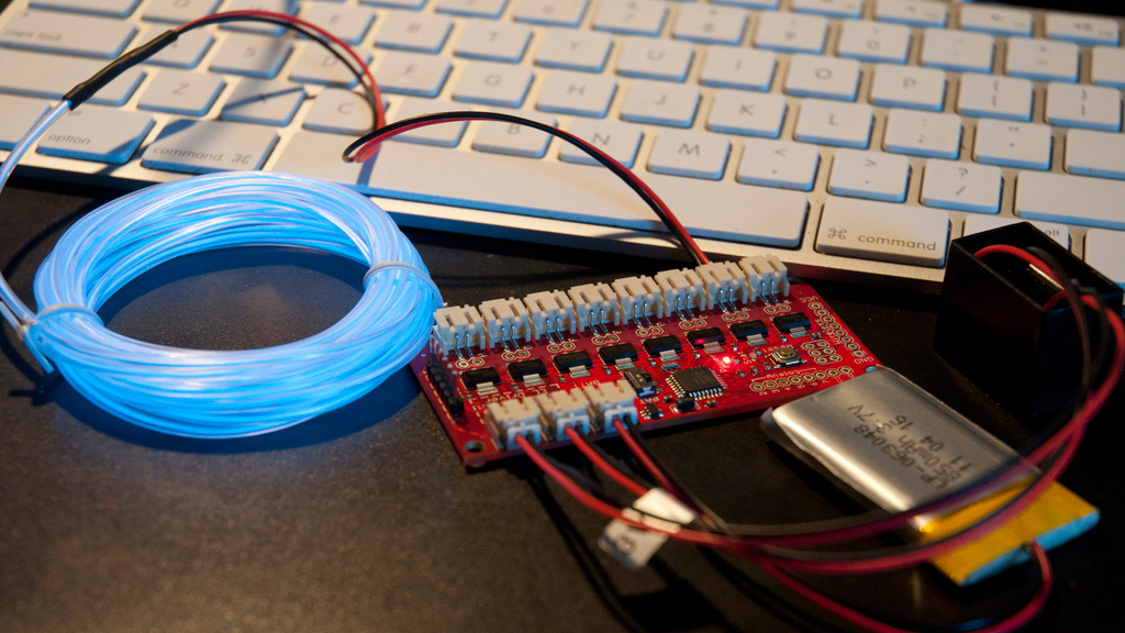 How To Get Started With Electroluminescent El Wire Tested