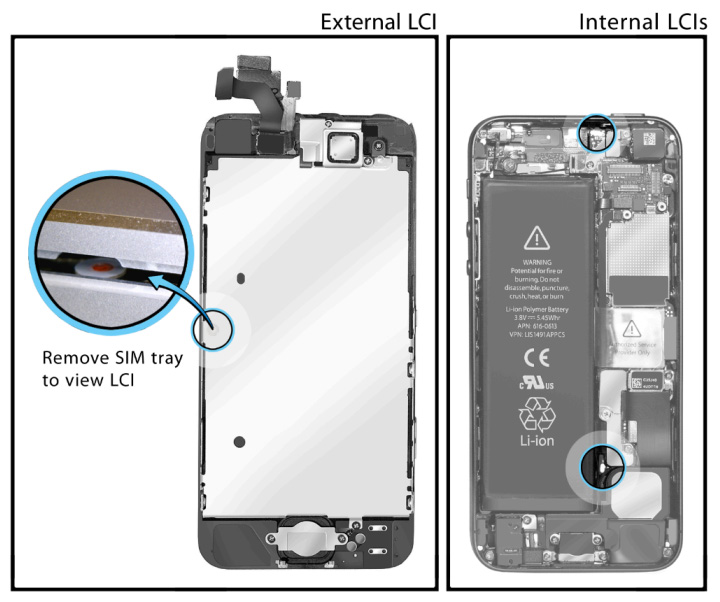 iphone 5s water damage indicator how to maximize apple s iphone 5 warranty policies tested 3423