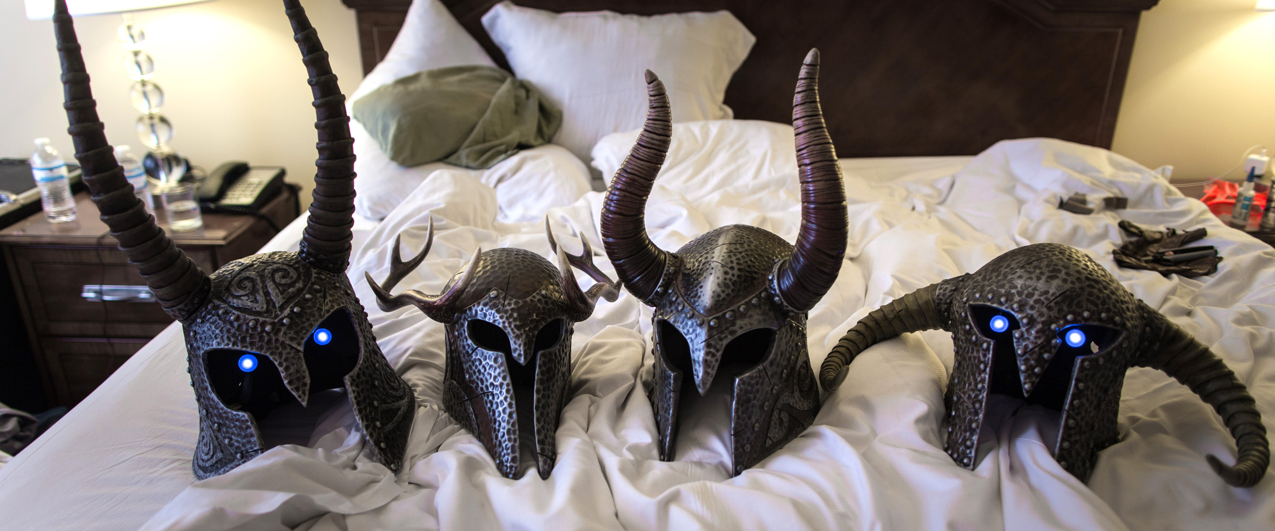 457445 Draugr Deathlords Dragoncon on red carpet props