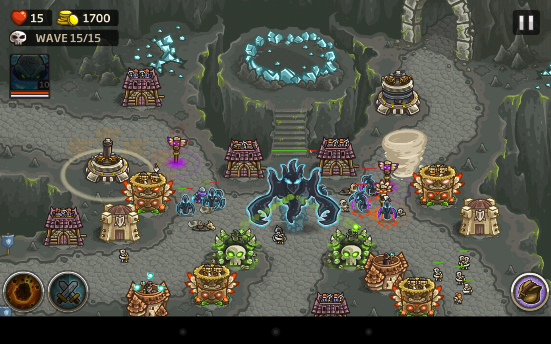 kingdom rush frontiers free heroes