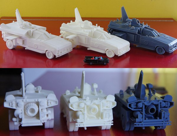 3D Printed RC Car & Other Cars, Boats, or Rockets