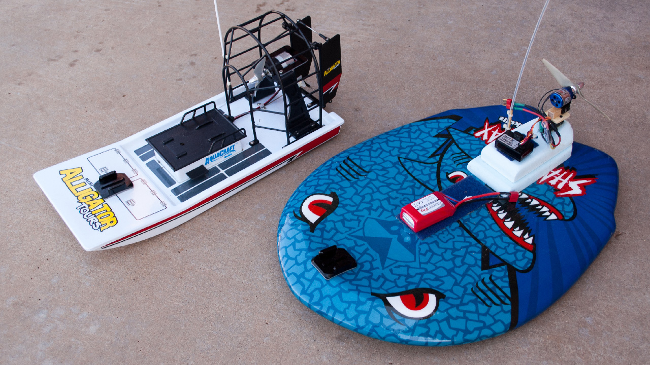 Building and Testing a Custom RC Airboat - Tested