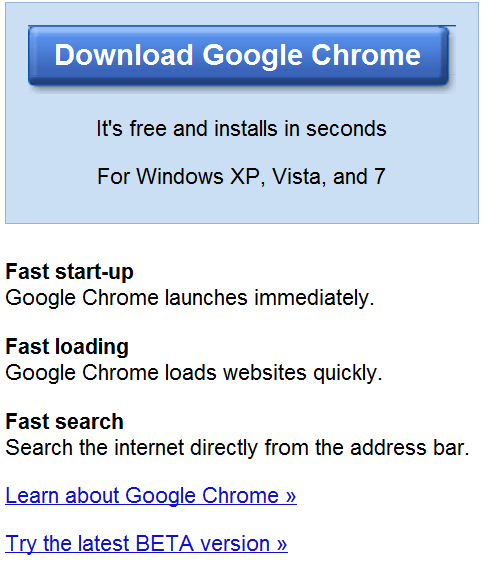 how to make google chrome boarderless