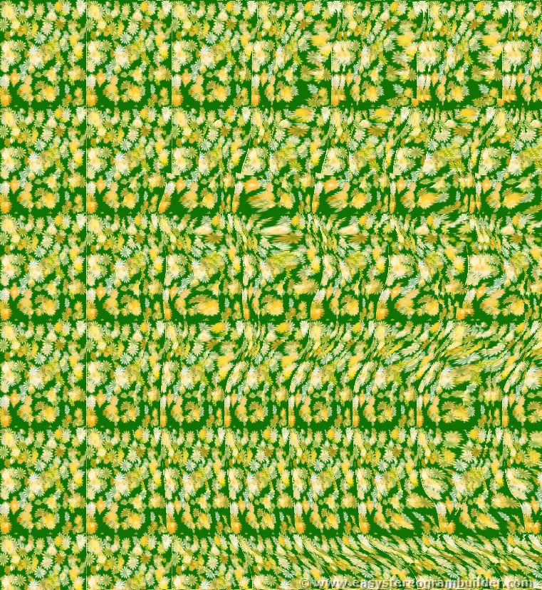Easy Magic Eye Illusions