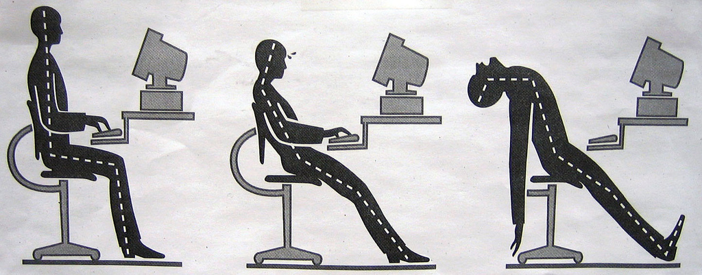 Essential Tips for Proper Posture for a Day at Your Desk  : 14511 3242592819899a2ee66b Best Office Chair for <strong>Neck Pain</strong> from www.tested.com size 1024 x 401 jpeg 235kB