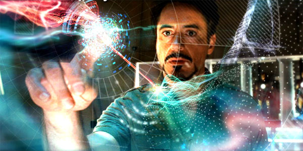 The Fuzzy Future of Holographic Display Interfaces  Video Iron Man Holographic Computer